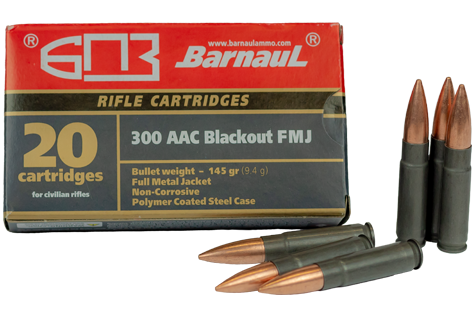 300BLK poly coated ammunition