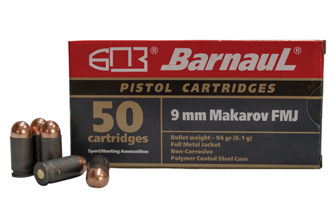 9mm makarov poly coated ammunition
